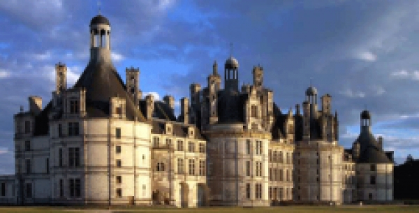 CHAMBORD Castle, published in the New Republic
